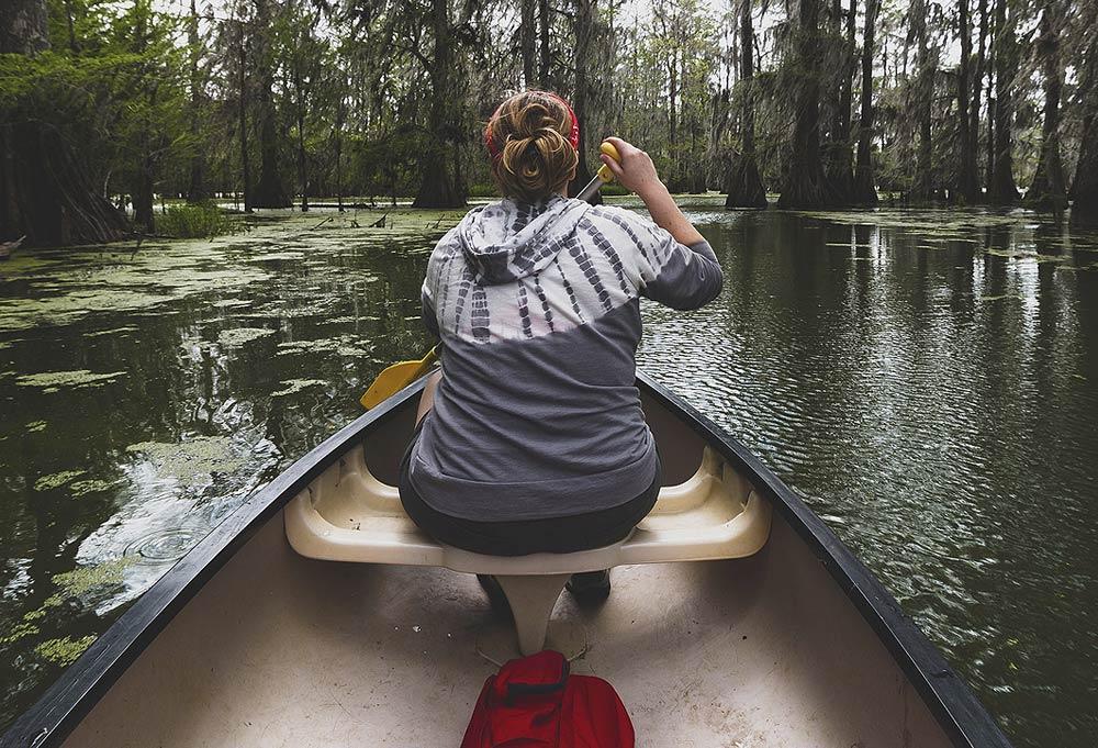Big Cypress RV Resort - Tour the Swamp - Canoeing