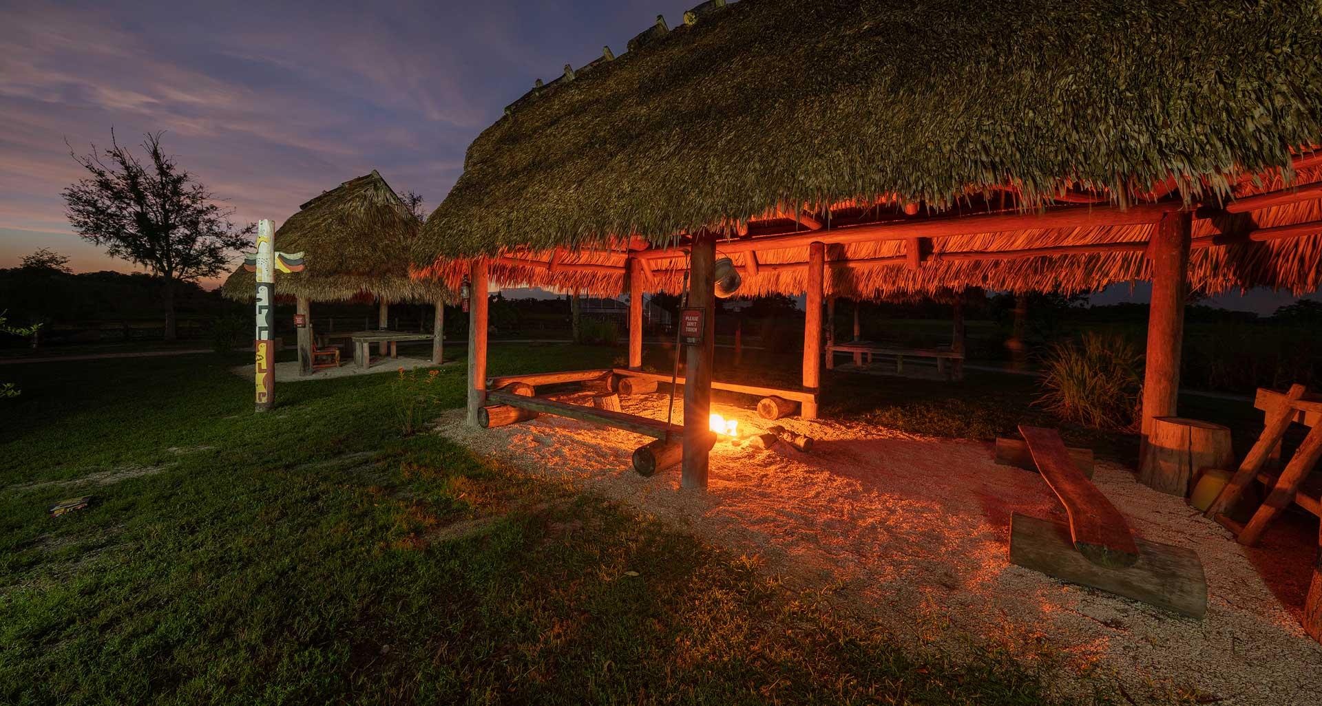 Florida Seminole Tourism - Camping
